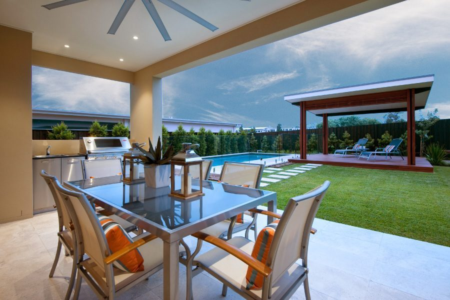 Horizon Homes Alfresco and Pool