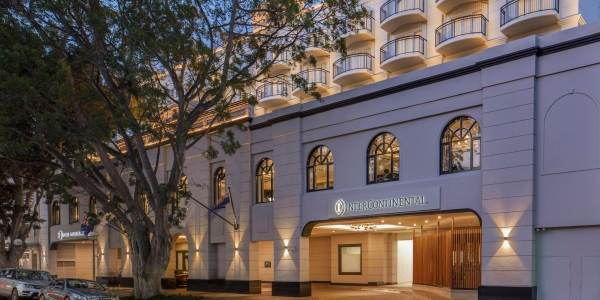 Intercontinental Double Bay Hotel Entry