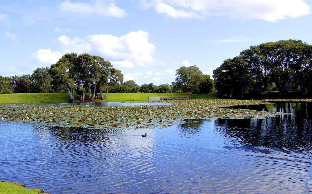 centennial park lake