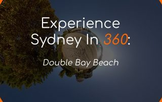 Double Bay Beach Thumbnail Cover 360 VR Little Planet 360 Photography 360 Video