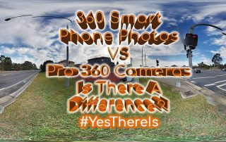 360 Smartphone Photos VS Professional 360 Cameras Yes There Is