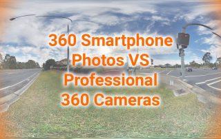 360 Smartphone Photos VS Professional 360 Cameras