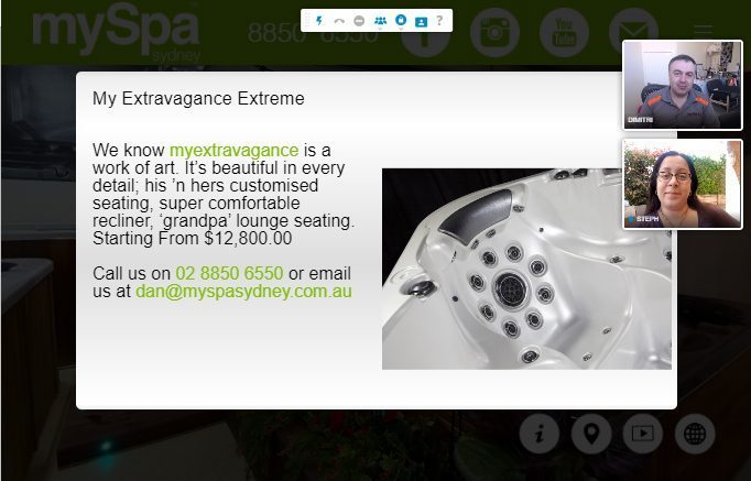 Live Guided Virtual Tour Example
